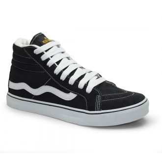 Tênis De Skate Old School Hi Top Mad Rats