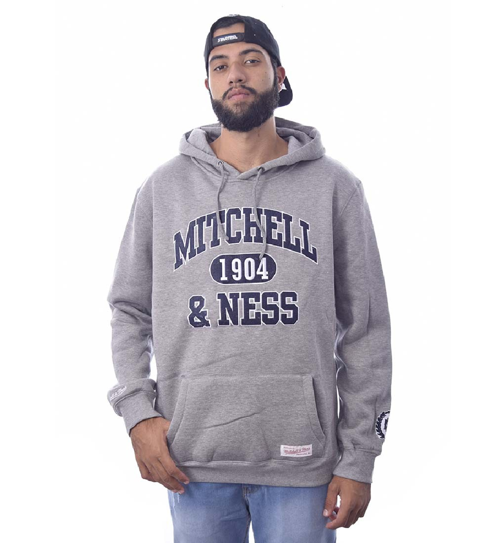 Blusa de Moletom fechado Mitchell & Ness