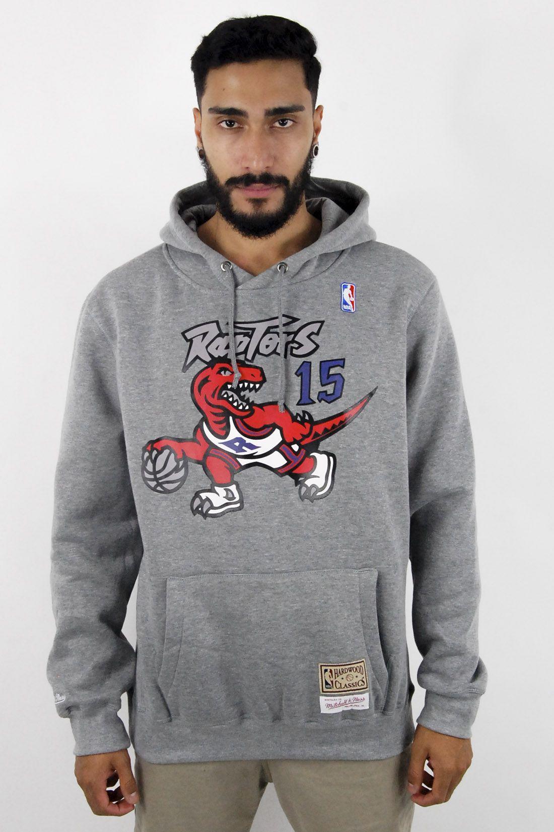 Blusa de Moletom NBA Toronto Raptors Mitchell & Ness