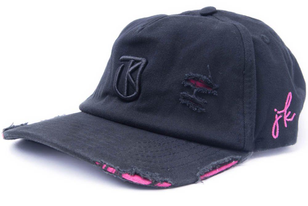 Boné Dad Hat Aba Curva Strapback Brasão Jota K