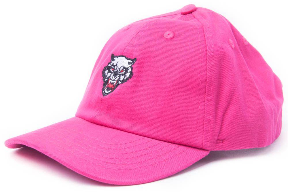 Boné Dad Hat Aba Curva Strapback Lobo Jota K