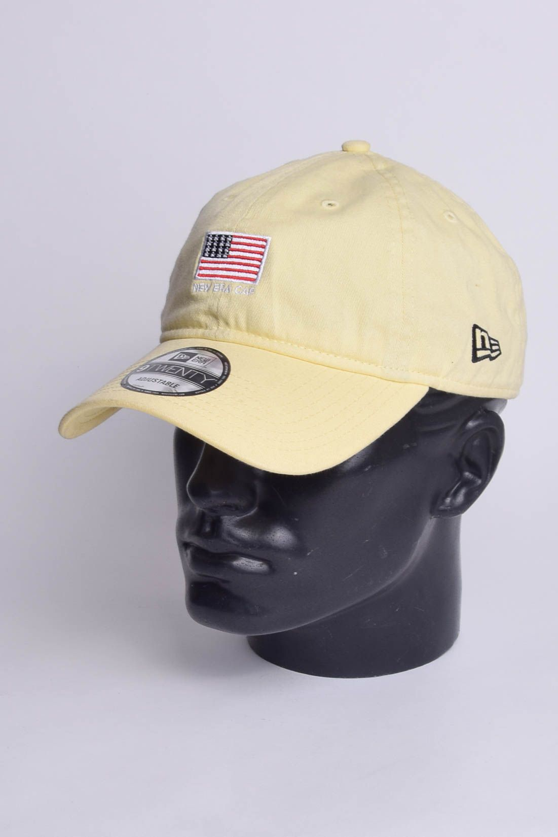 Boné EUA Aba Curva Strapback Dad Hat New era