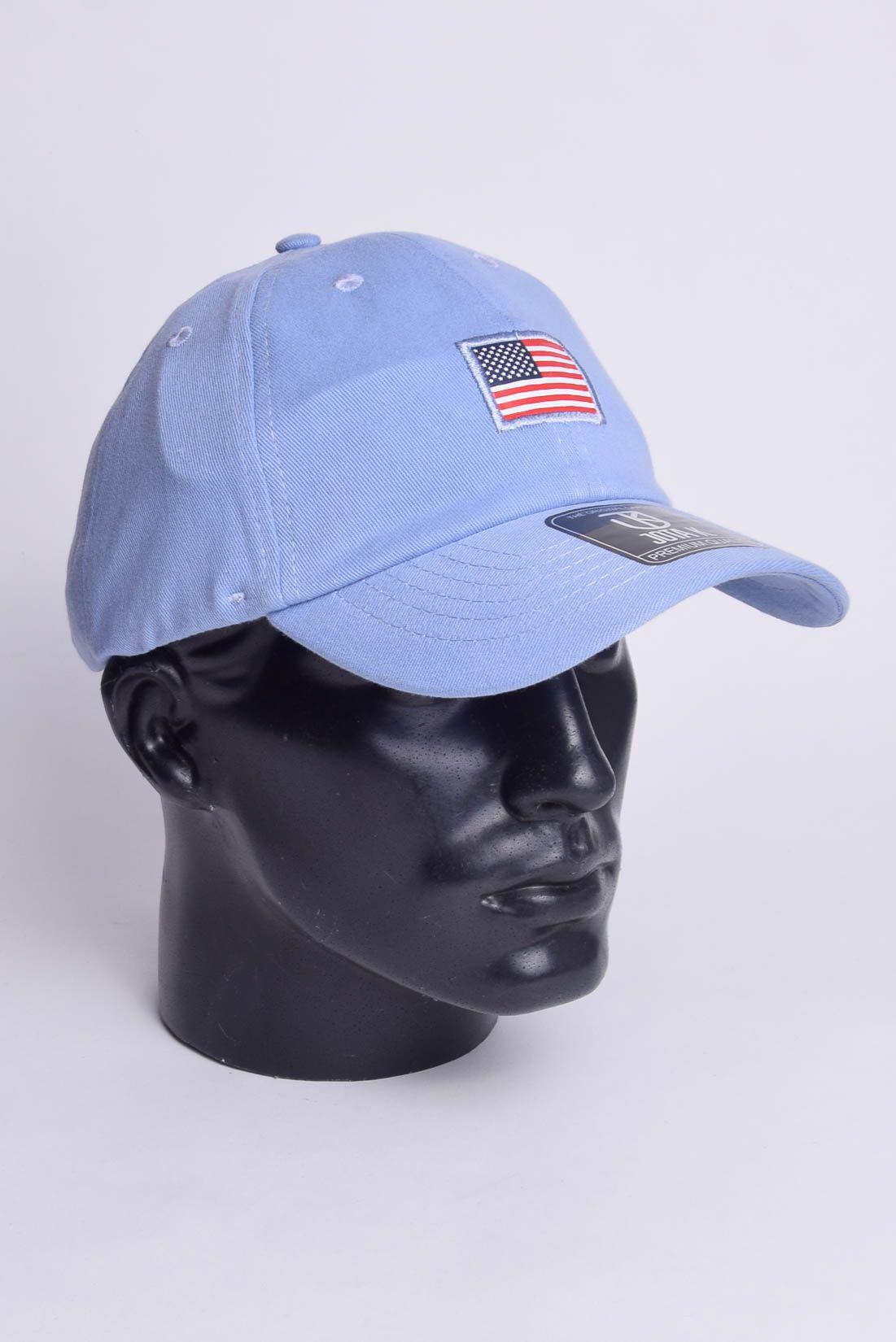 Boné EUA Strapback Dad Hat Aba Curva  Jota K