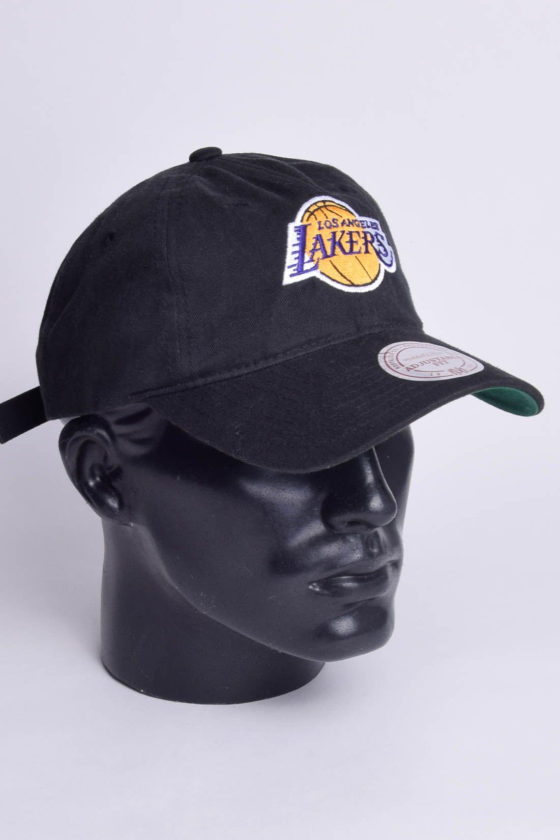 Boné NBA Los Angeles Lakers Strapback Aba Curva Mitchell & Ness