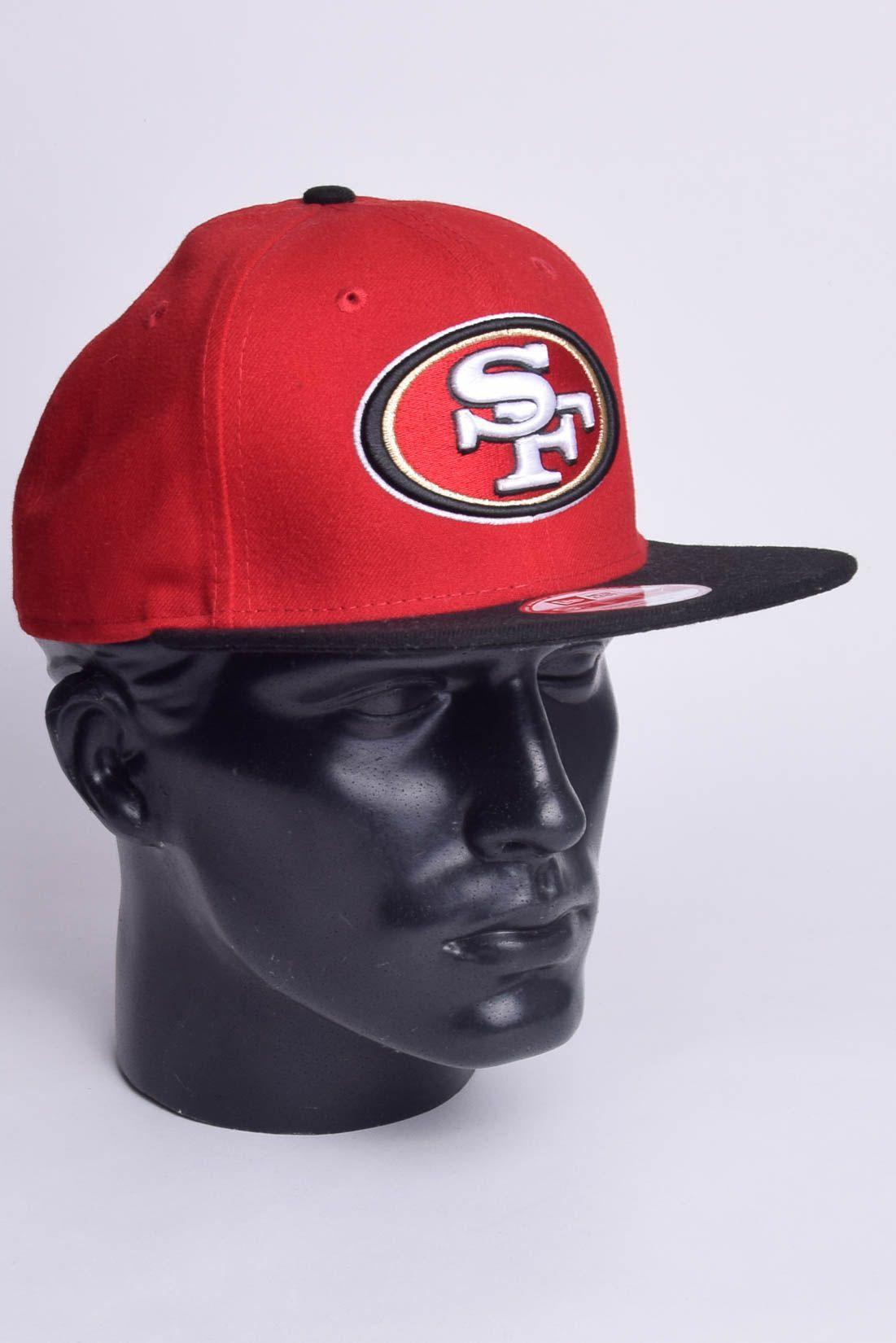 Boné NFL San Francisco 49ers Aba Reta Snapback New Era