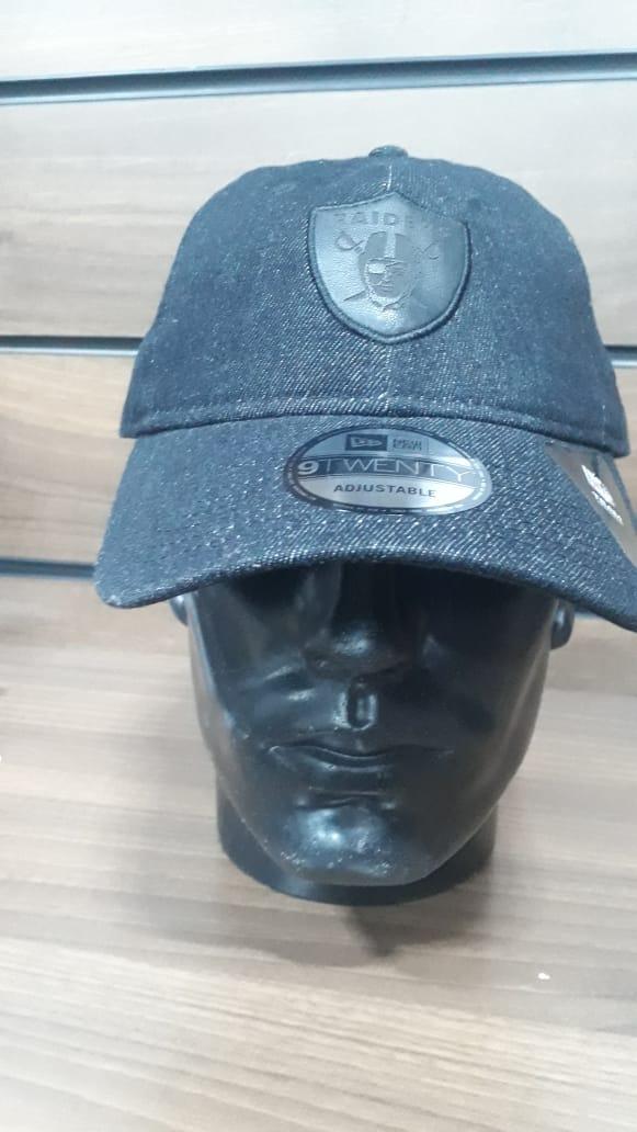 Boné Raiders Aba Curva  New Era Jeans Escuro