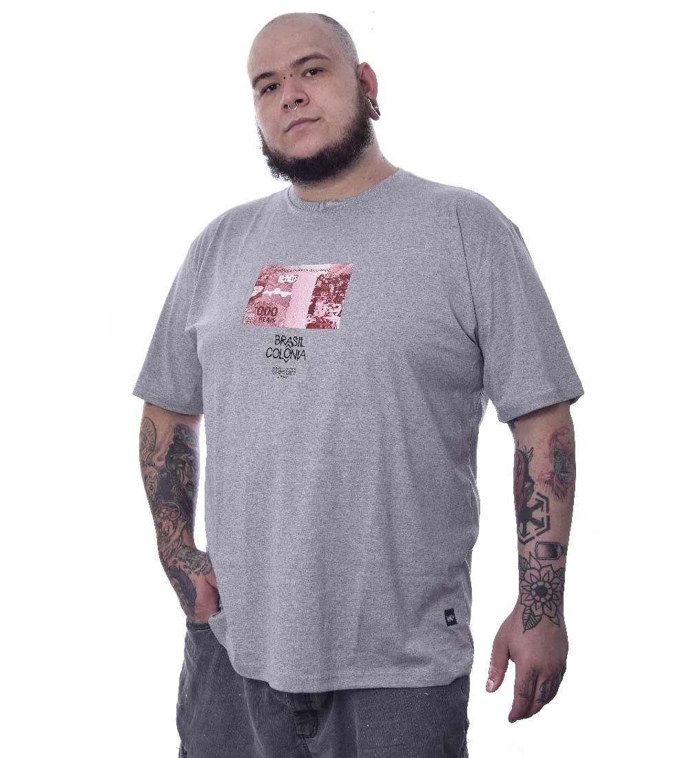 Camiseta Plus Size Chronic Brasil Colônia