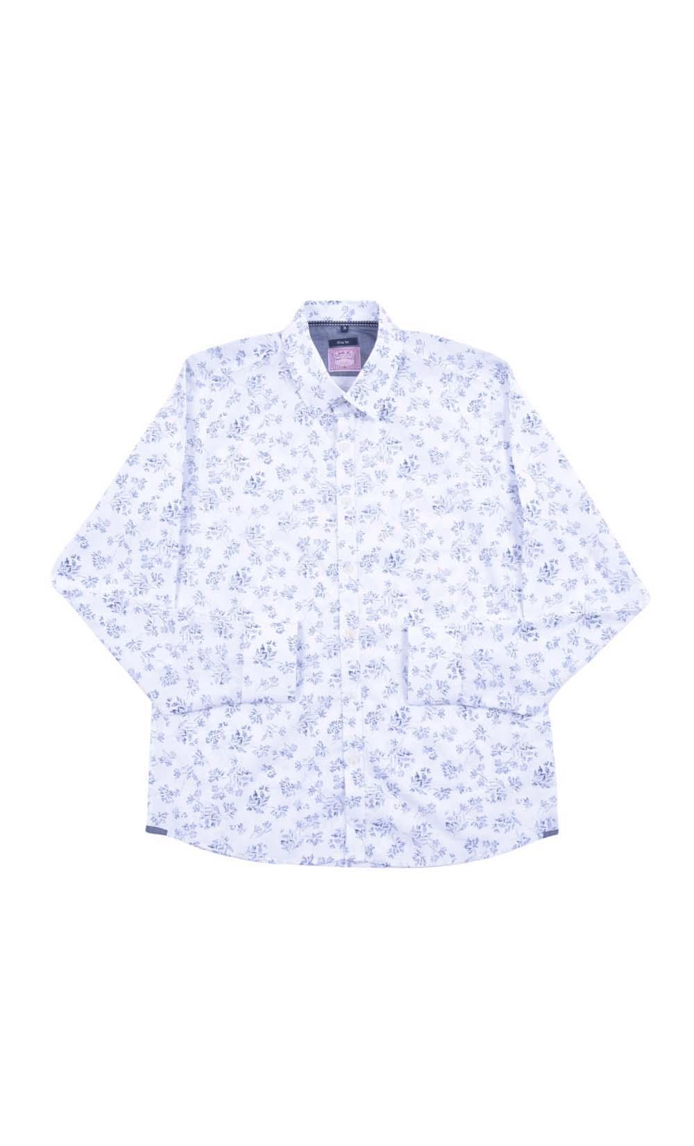 Camisa Floral Manga longa Jota k