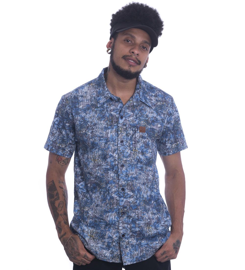 Camisa Jota K Floral