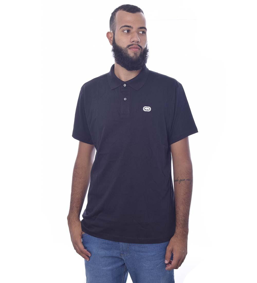 Camisa Polo Ecko Manga Curta