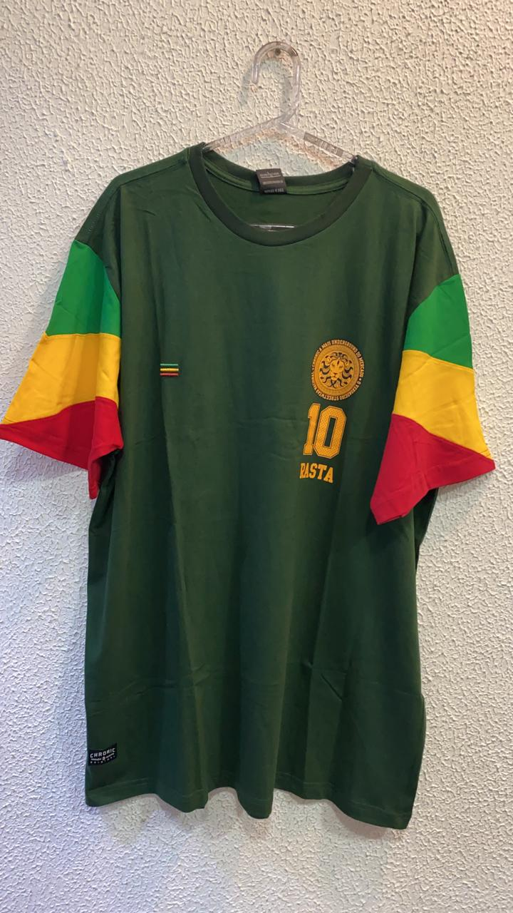CAMISETA 10 RASTA  CHRONIC