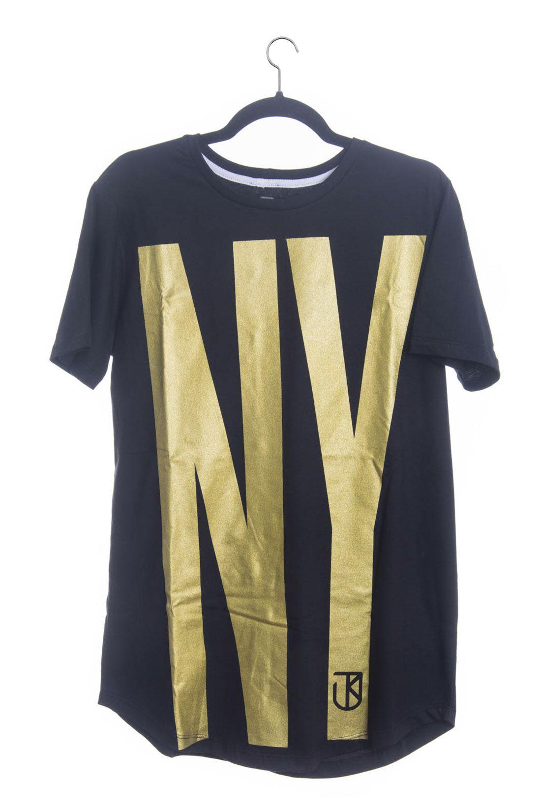 Camiseta Big NY Longline Jota k