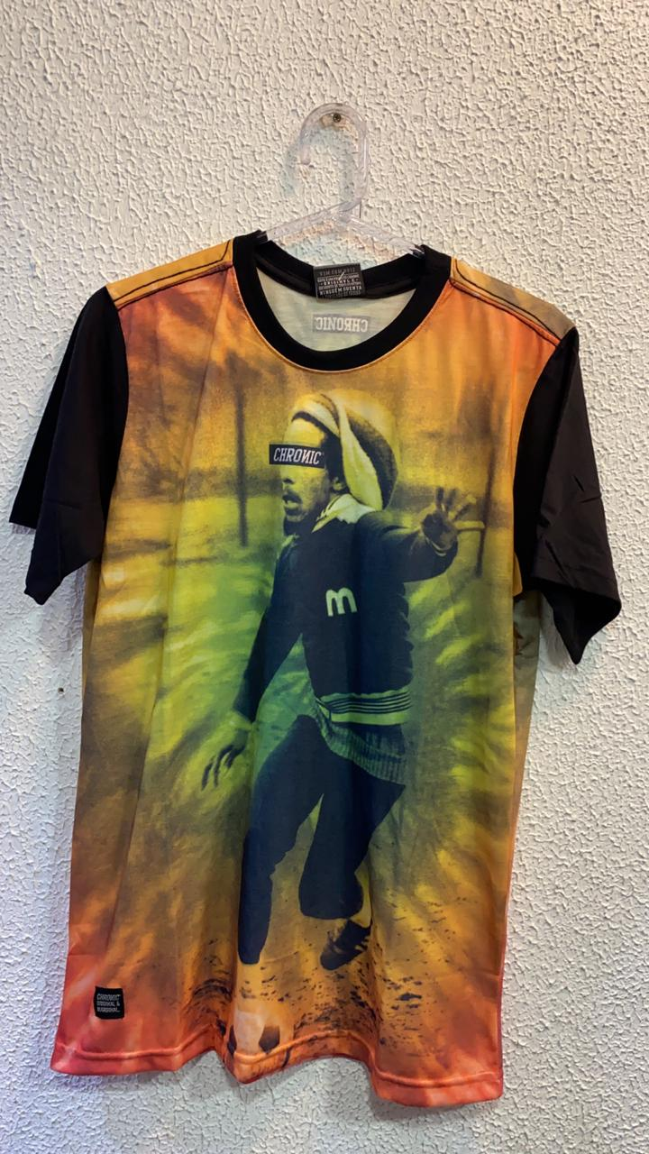 Camiseta Bob Marley 5 Chronic