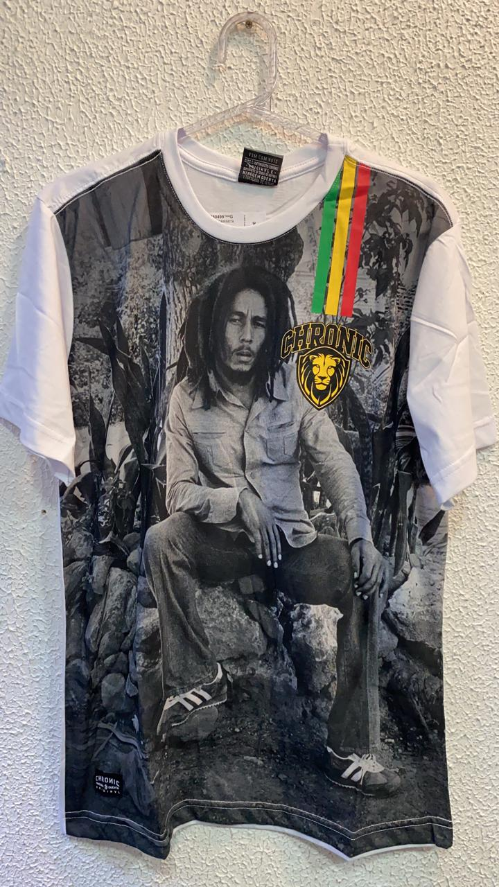 CAMISETA BOB MARLEY CHRONIC