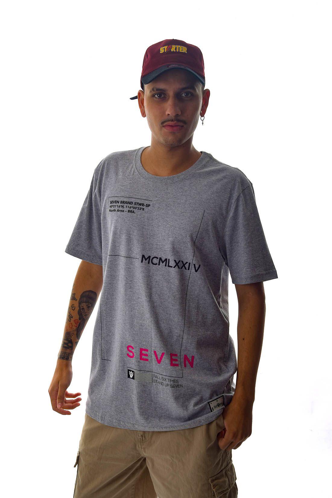 Camiseta Brend North Area Seven