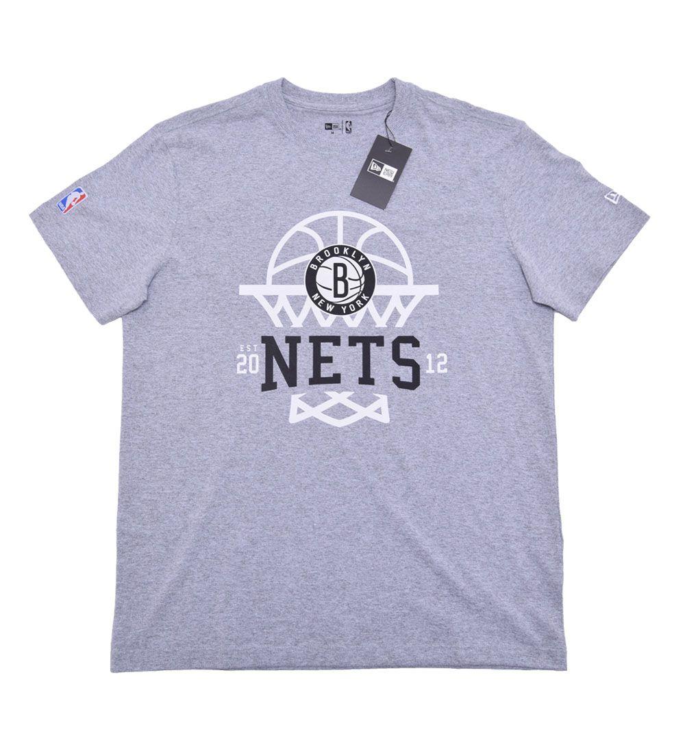 Camiseta Brooklin nets essentials Cesta NBA New Era