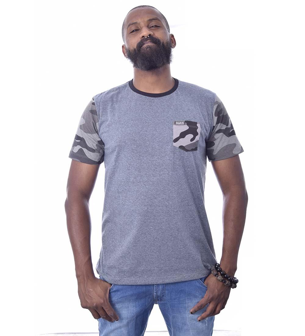 Camiseta Camuflada Stun