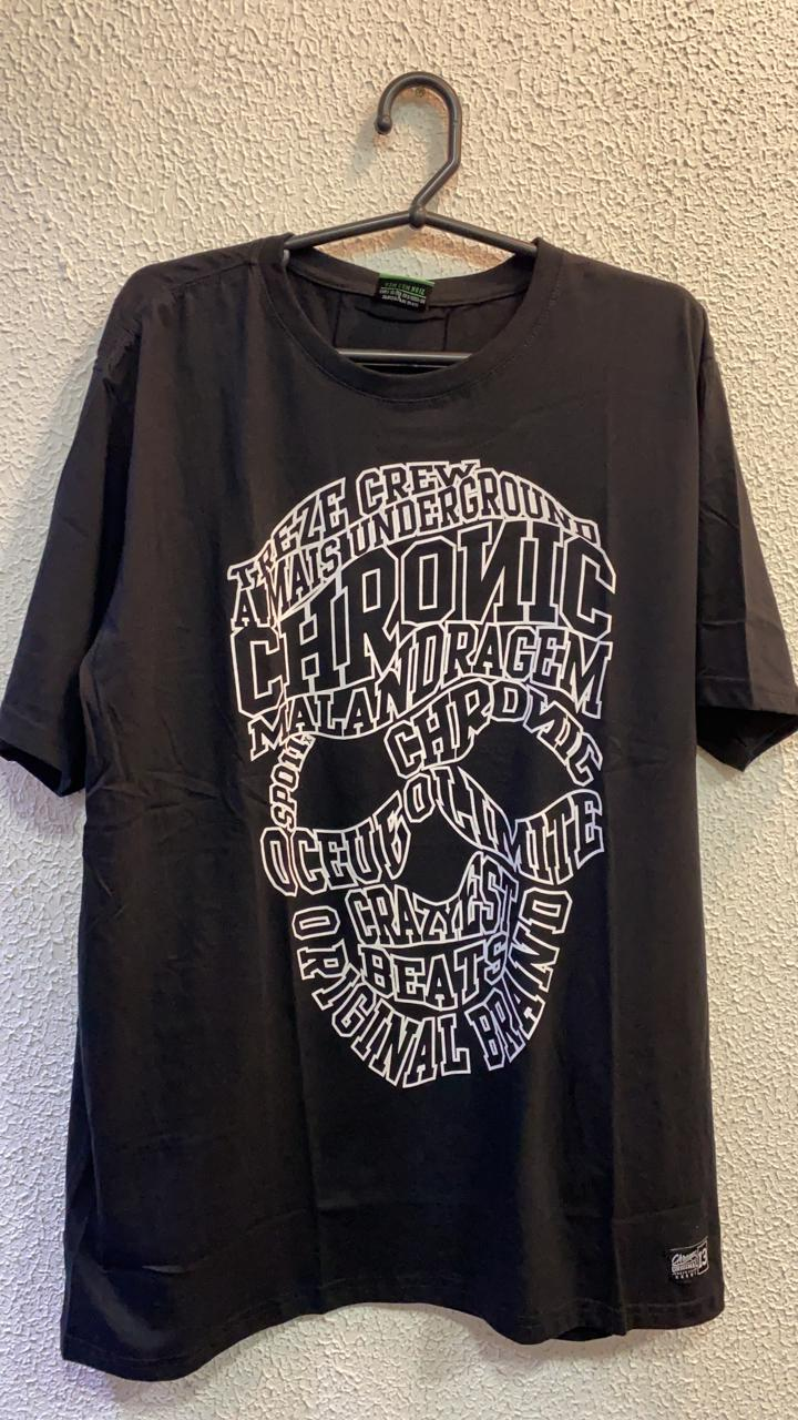 CAMISETA CAVEIRA 5 CHRONIC