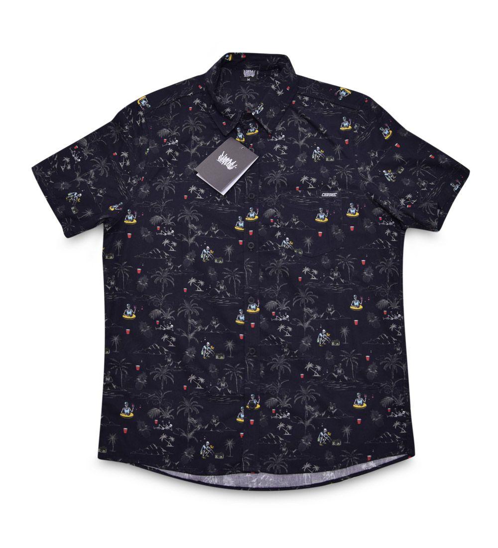 Camisa Caveira Chronic