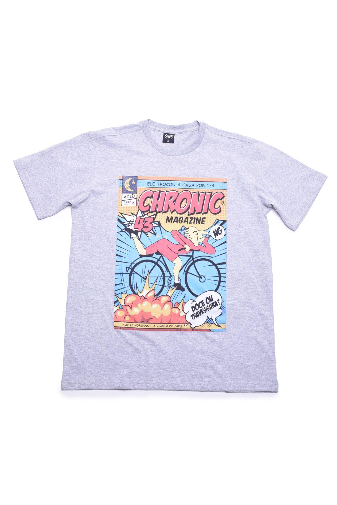 Camiseta Doce ou Travessura Chronic
