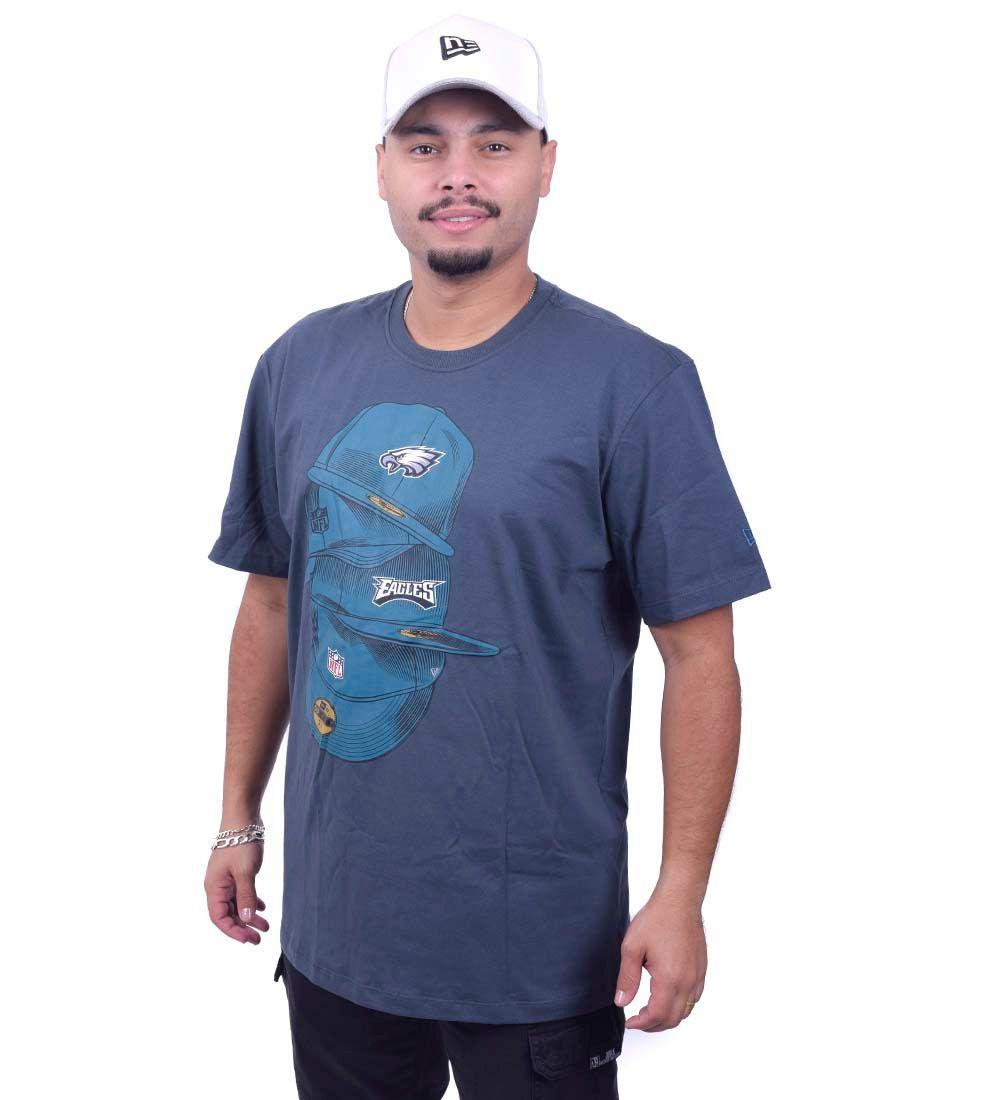 Camiseta Eagles Under Dance NFL New Era