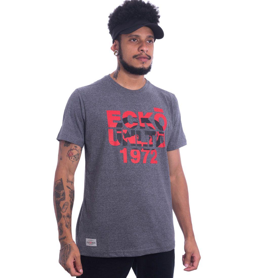 Camiseta Ecko Estampada