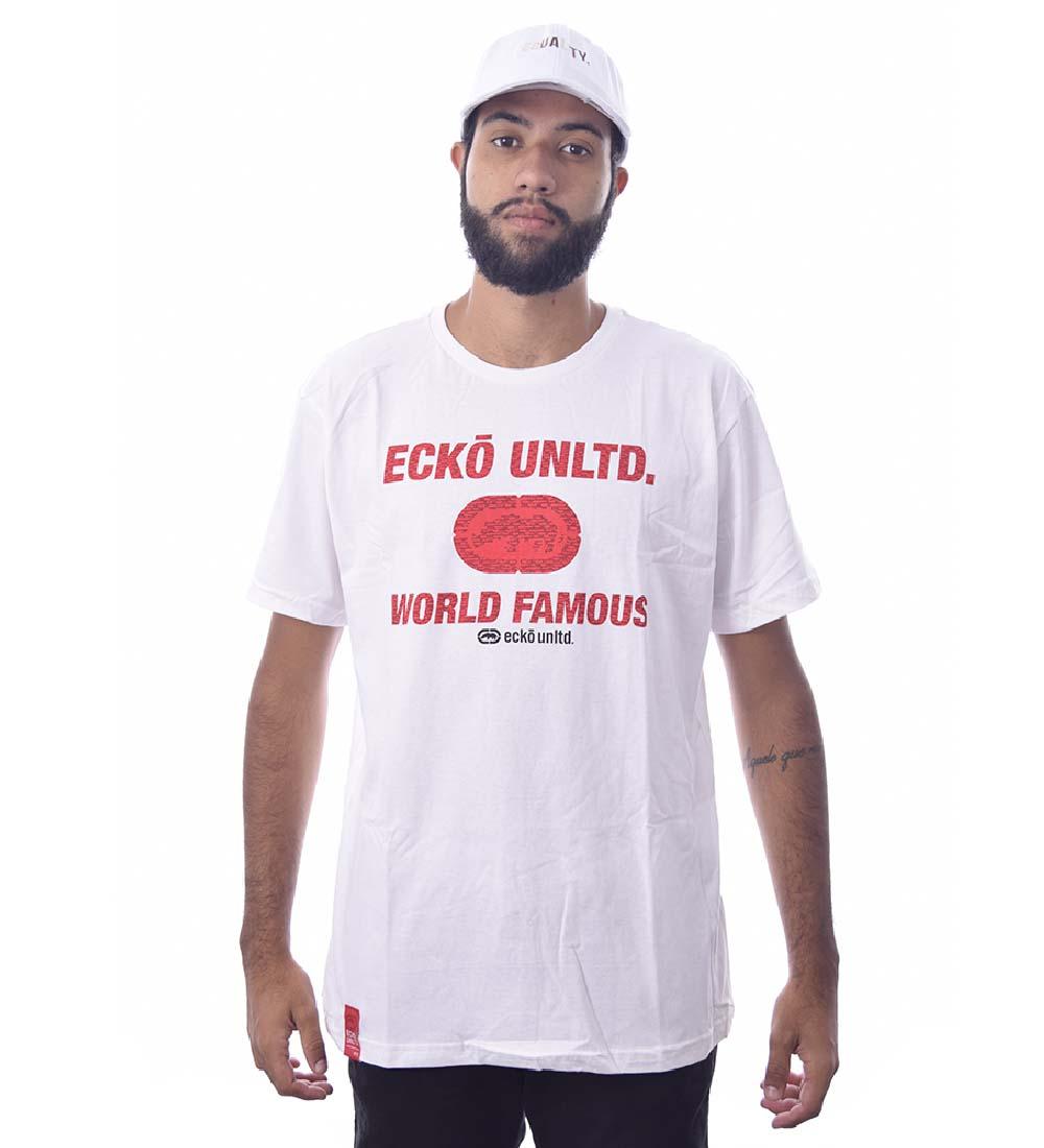 Camiseta Ecko Estampada Manga curta