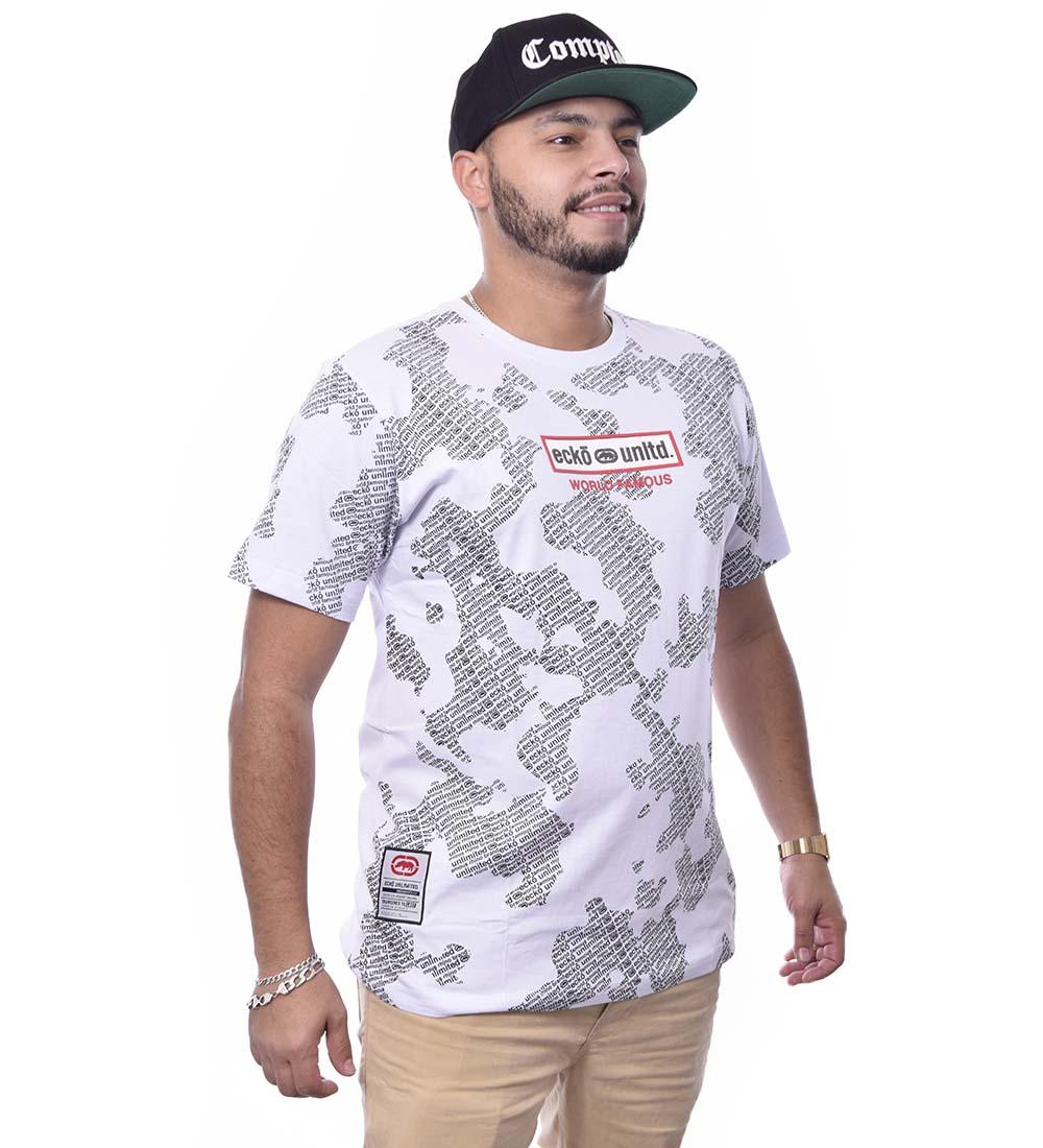 Camiseta Ecko Unltd Básica  Manga Curta