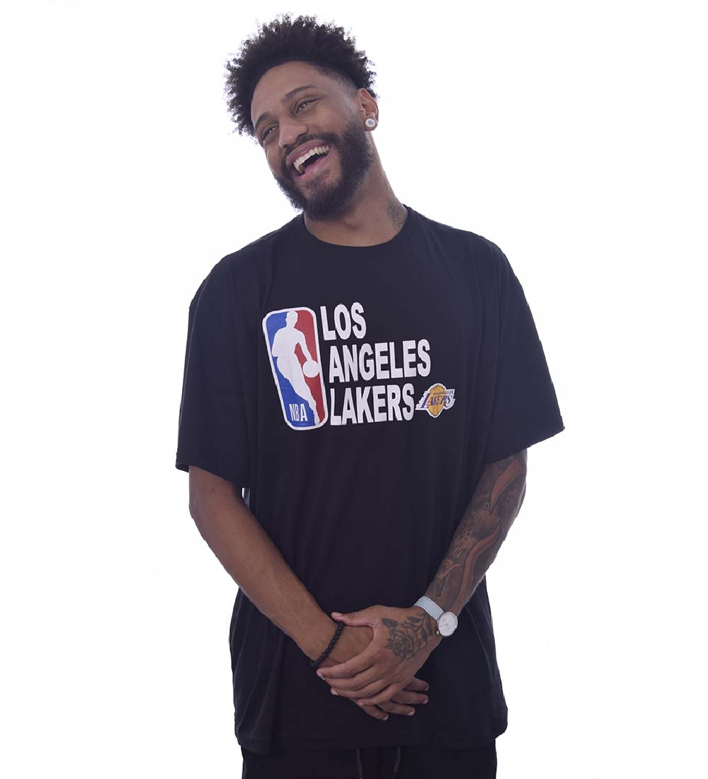 Camiseta Extra NBA Los Angeles Lakers