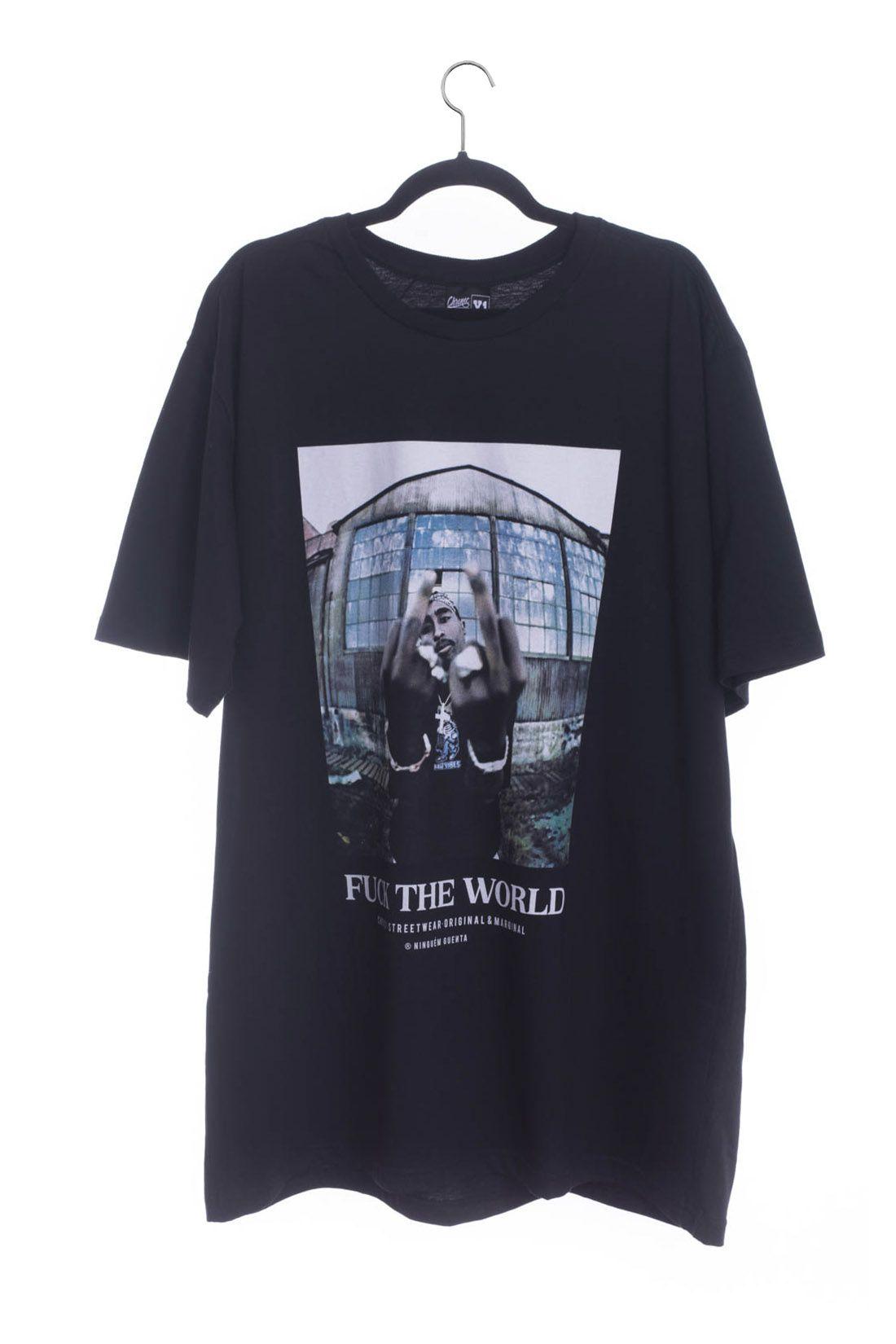 Camiseta Extra Tupac Shakur Chronic