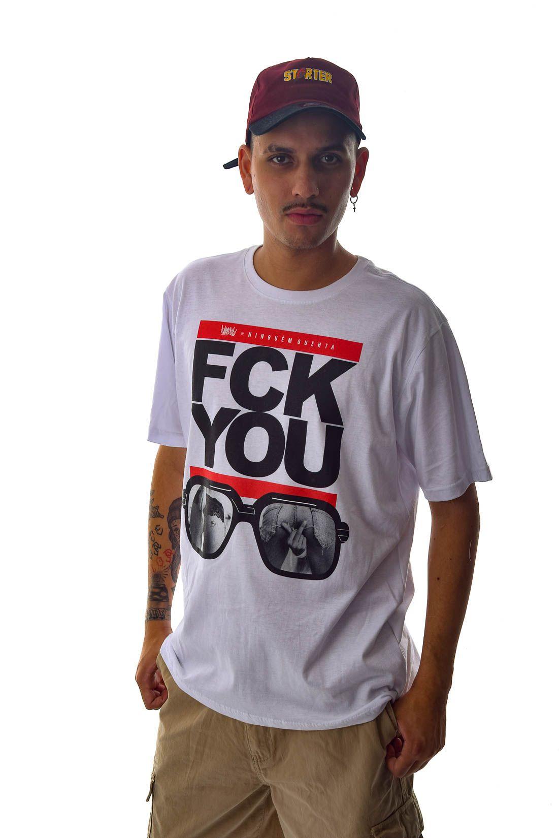 Camiseta FCK YOU Chronic