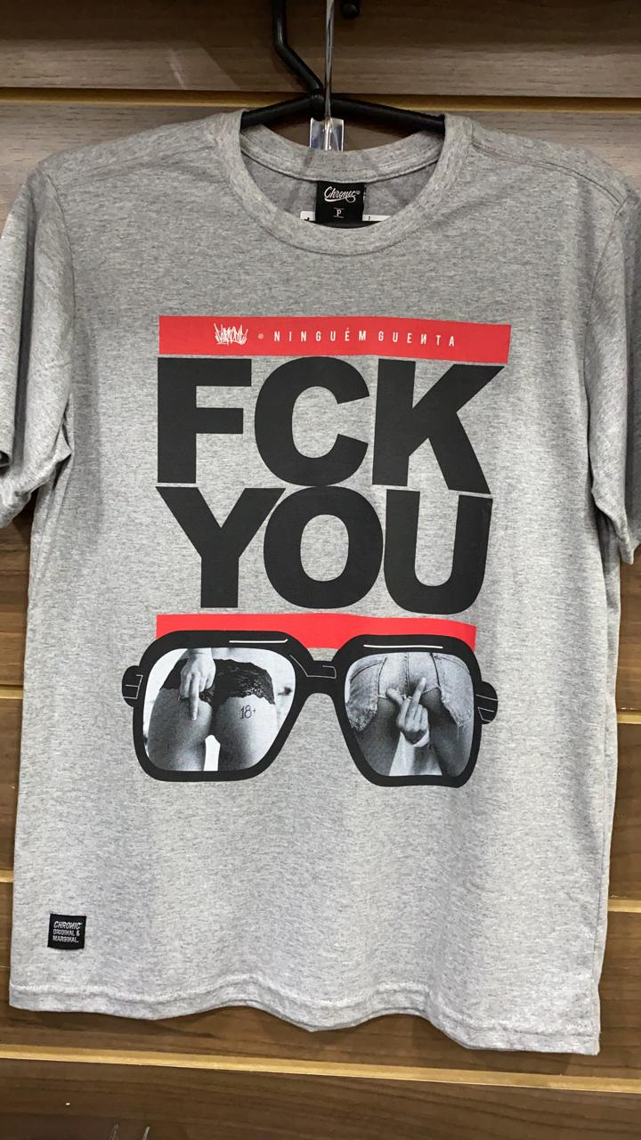 CAMISETA FCK YOU CHRONIC