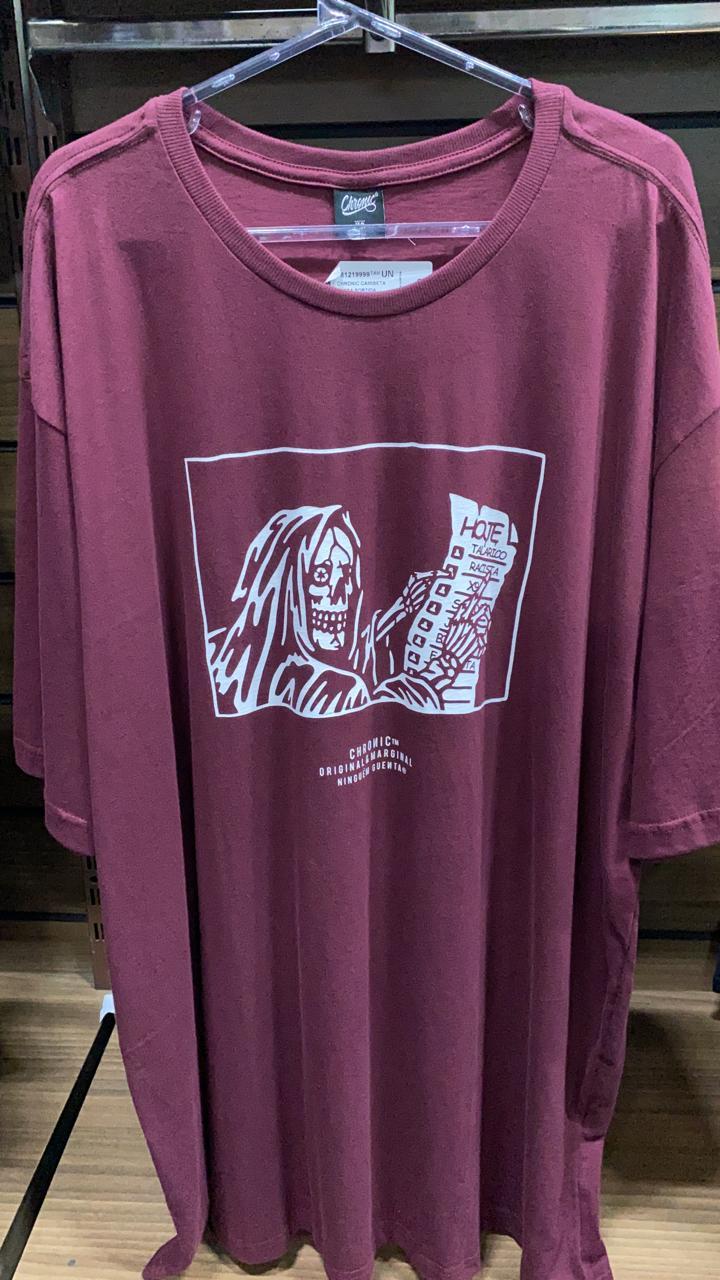Camiseta Lisa De Hoje Chronic
