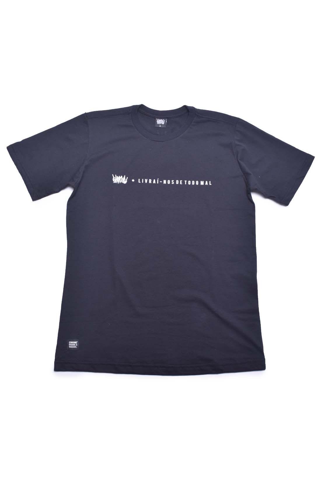 Camiseta Livrai Nos de todo Mal Chronic