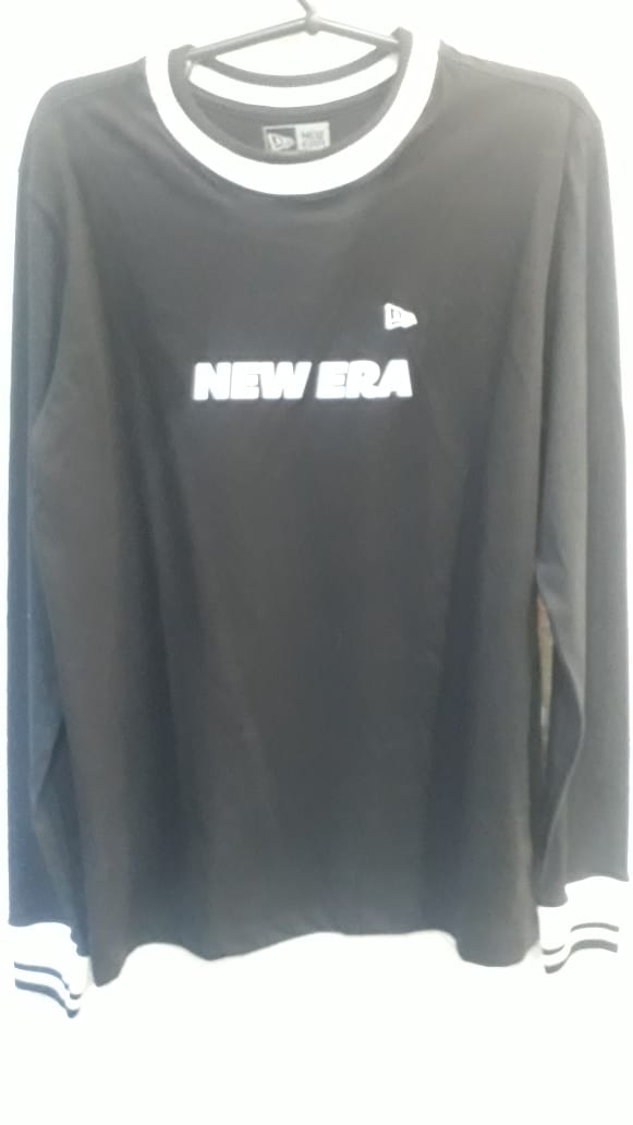 Camiseta Manga Longa Uni In New Era
