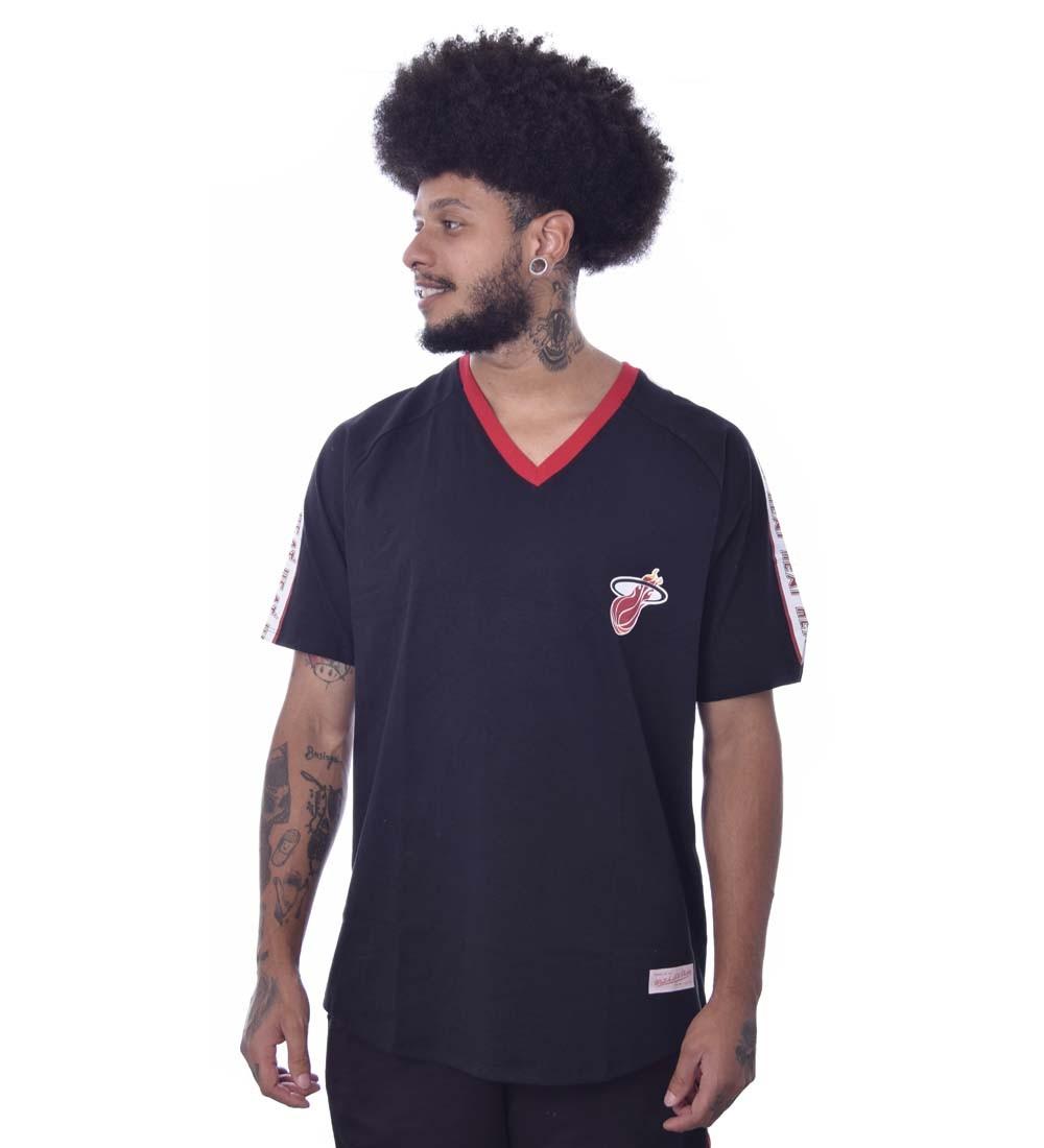 Camiseta Mitchell & Ness Miami Heat