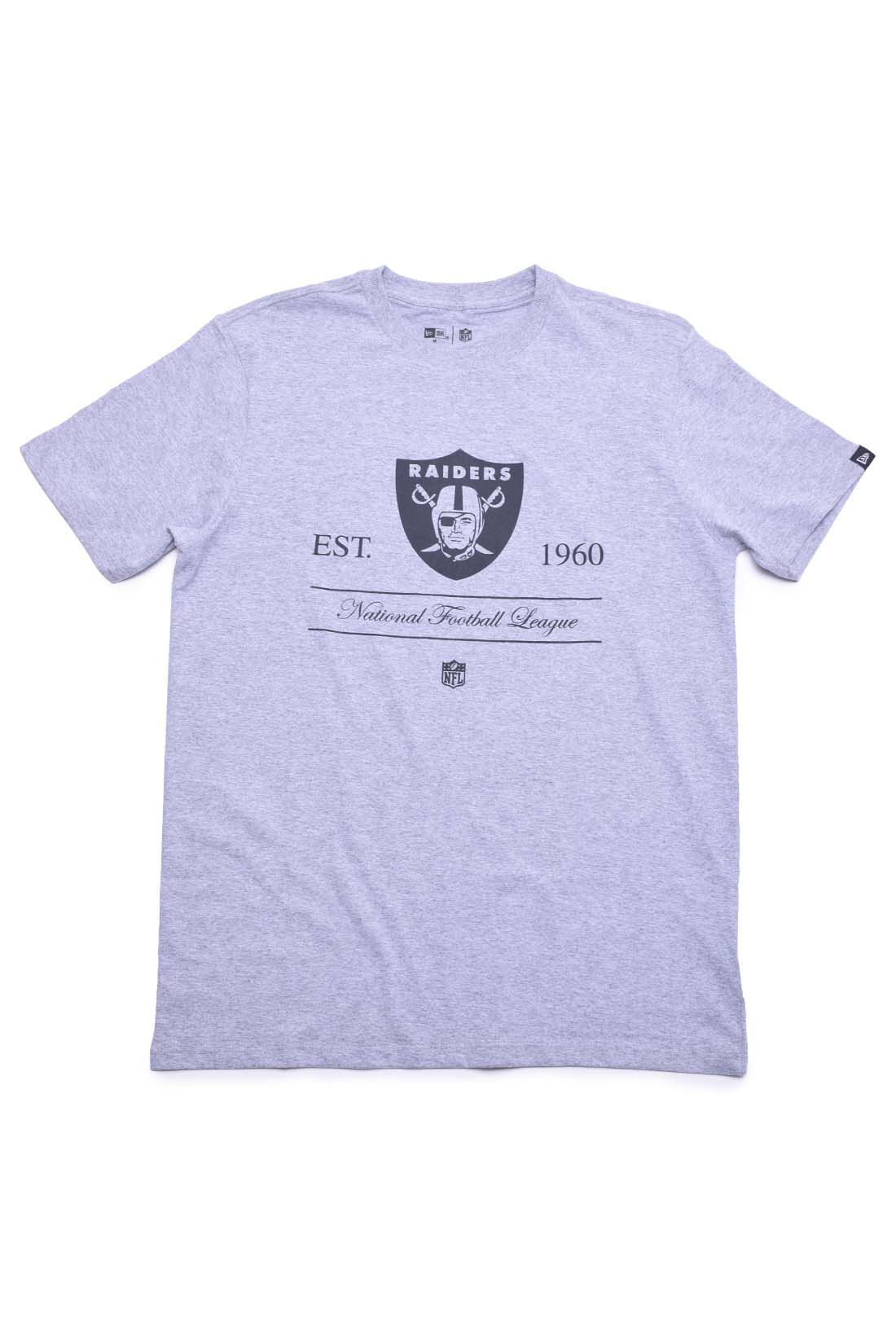 Camiseta National Footboll League Raiders NFL New Era