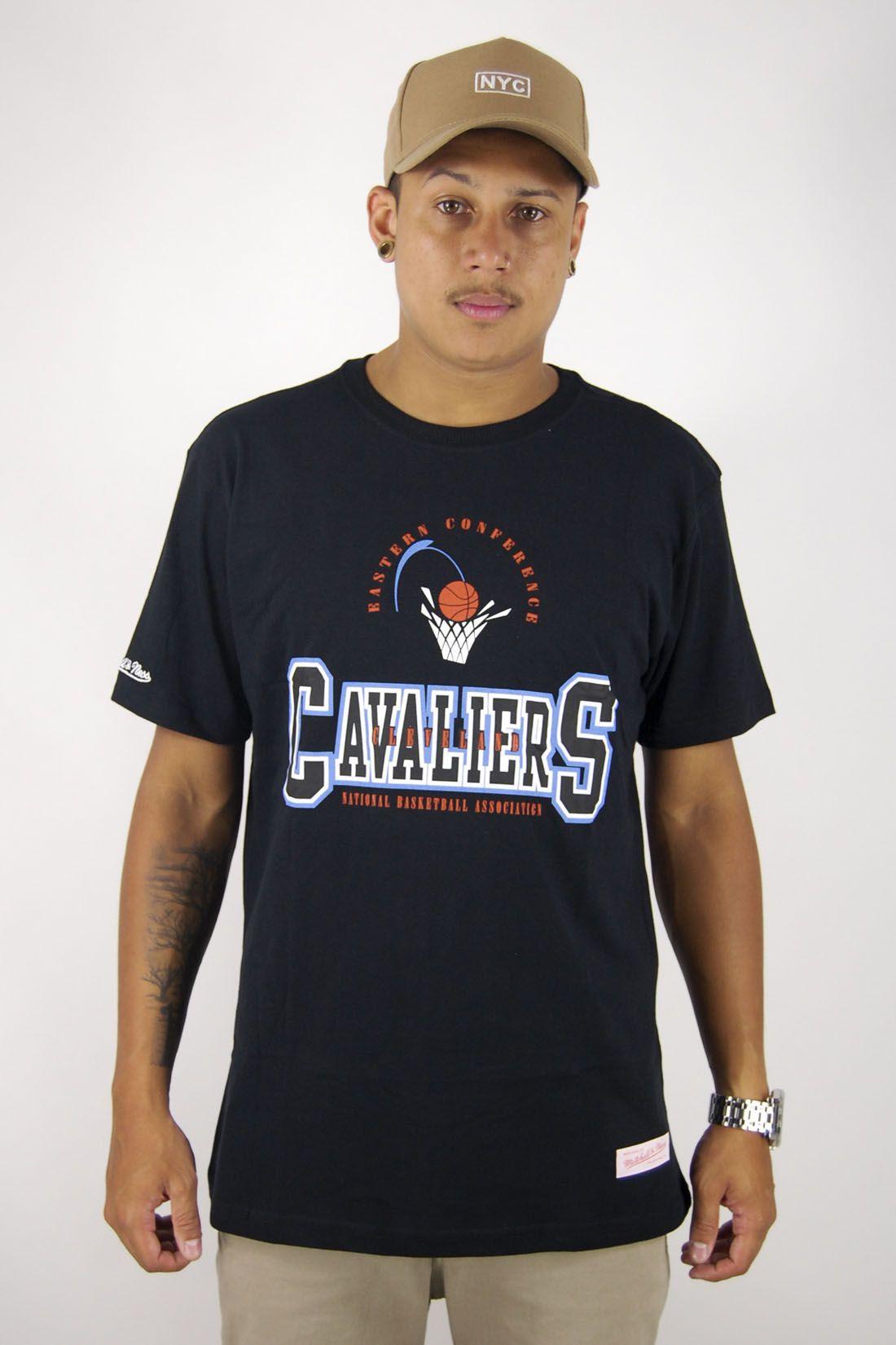 Camiseta NBA Cleveland Cavaliers Mitchell & Ness