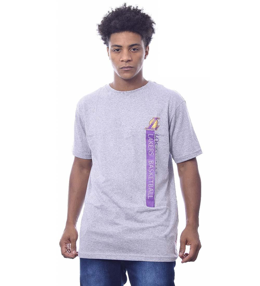 Camiseta NBA Los Angeles Lakers Manga Curta