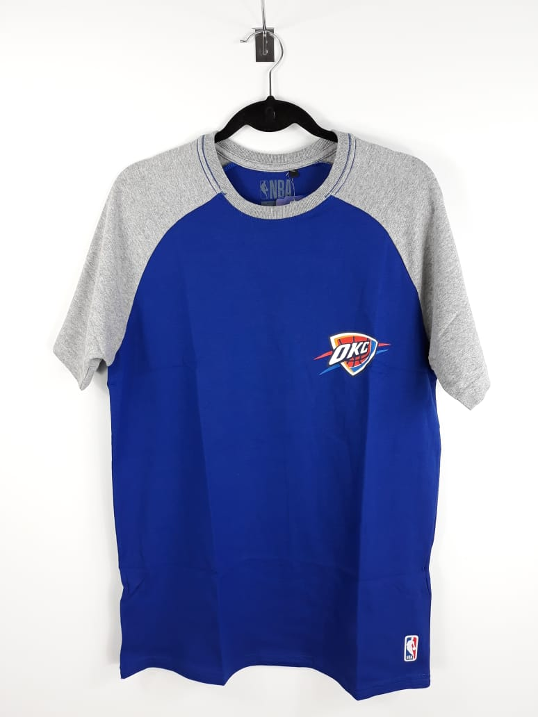 Camiseta NBA Oklahoma City Raglan NBA