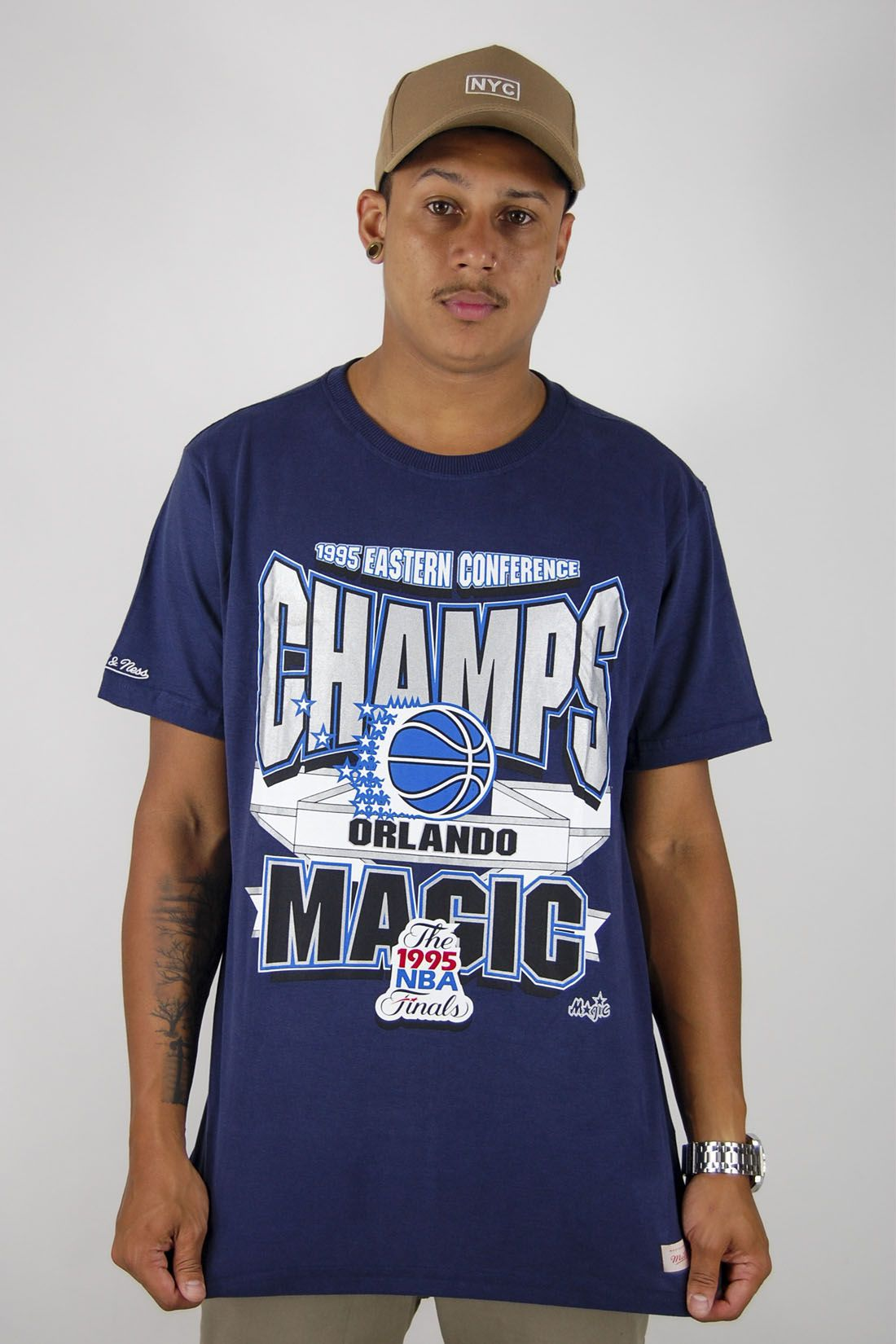 Camiseta NBA Orlando Magic Mitchell & Ness