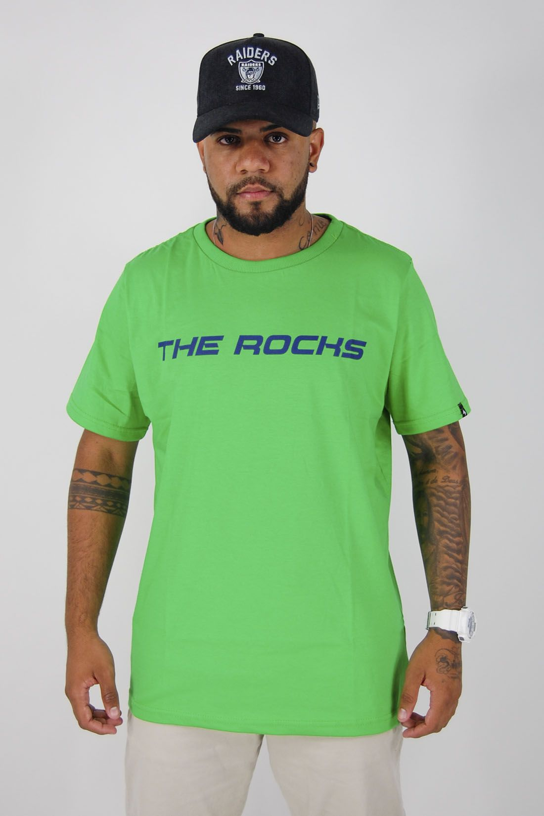 Camiseta Neon Rochs The Rocks