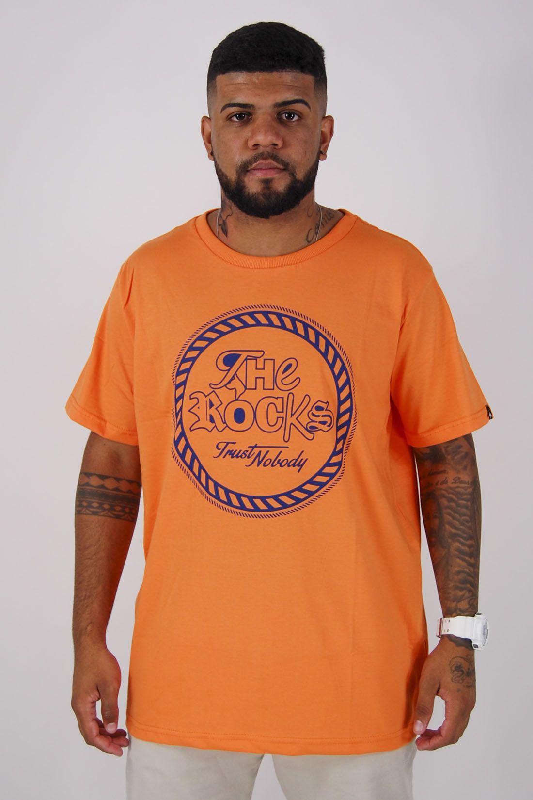 Camiseta Neon Trust Nobody The Rocks