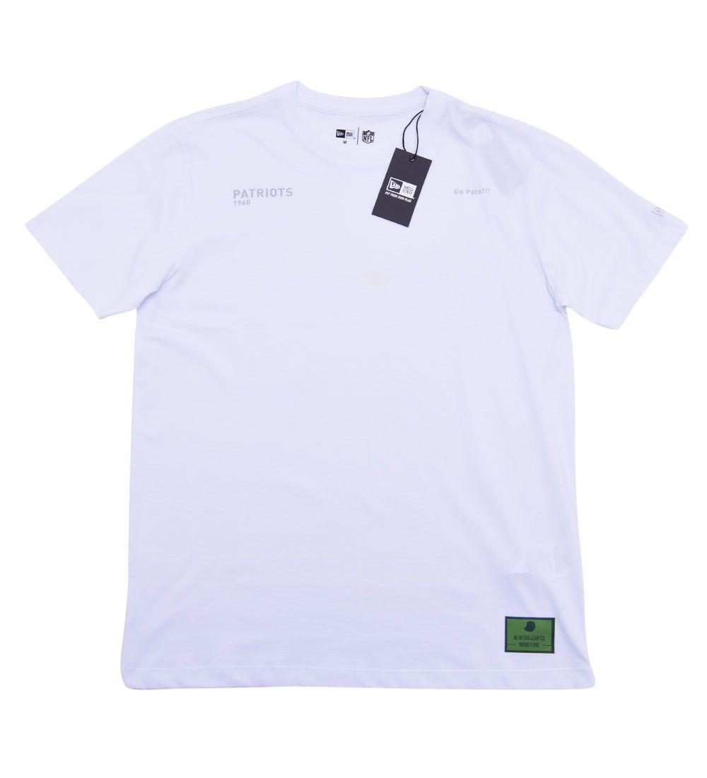 Camiseta New England Patriots Monotone UV Print NLF New Era