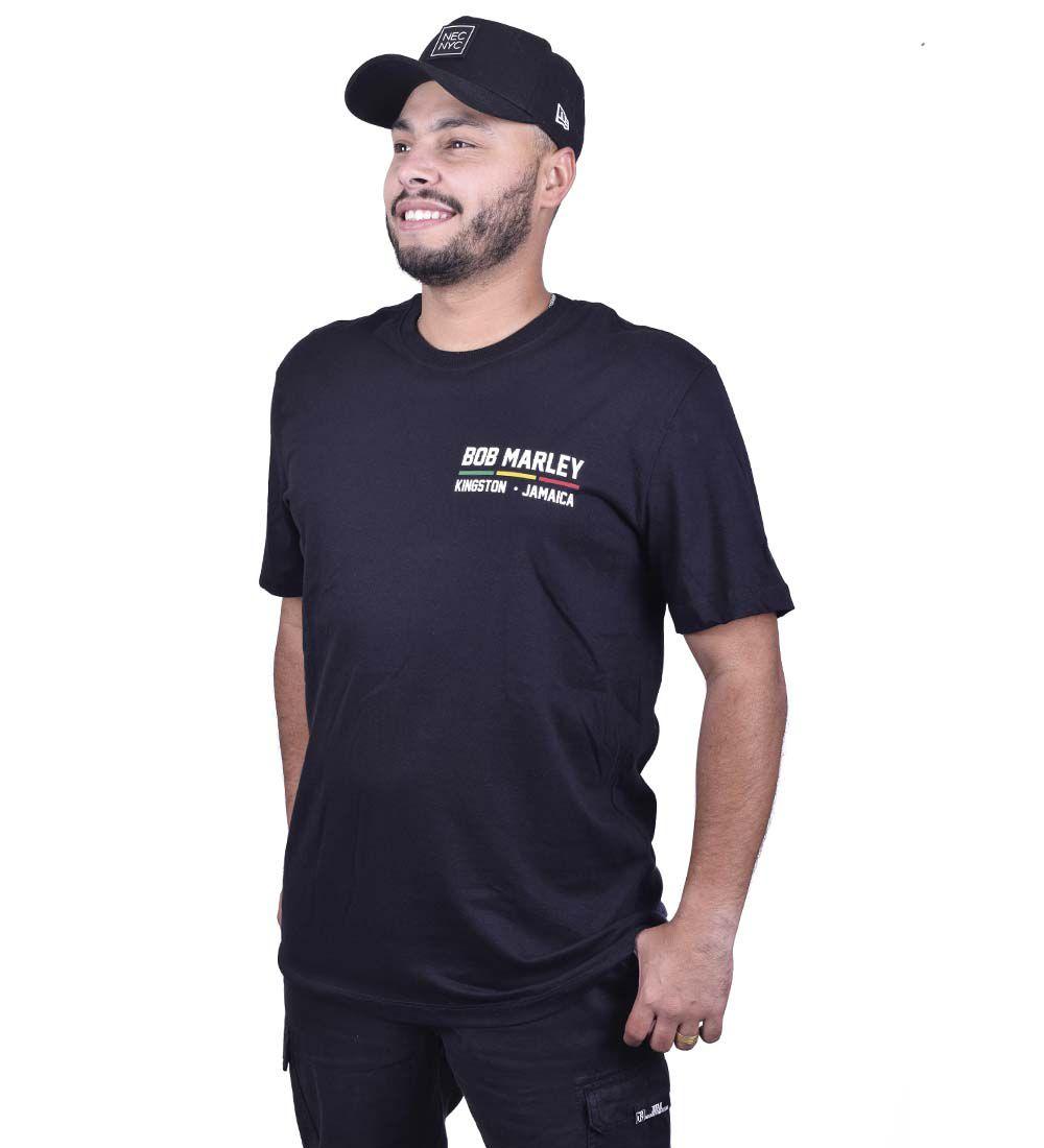 Camiseta New Era Bob Marley