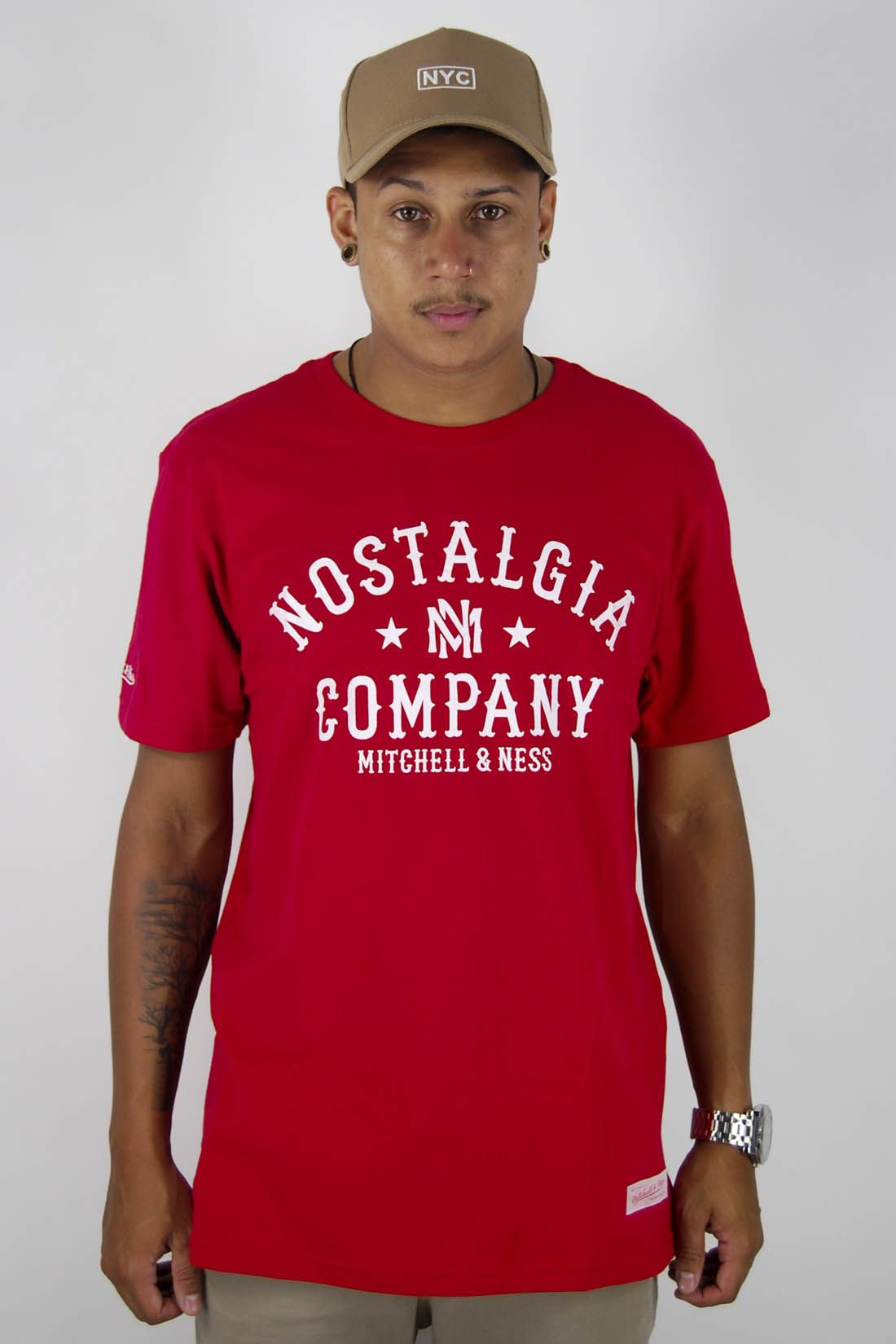 Camiseta Nostalgia Company Mitchell & Ness