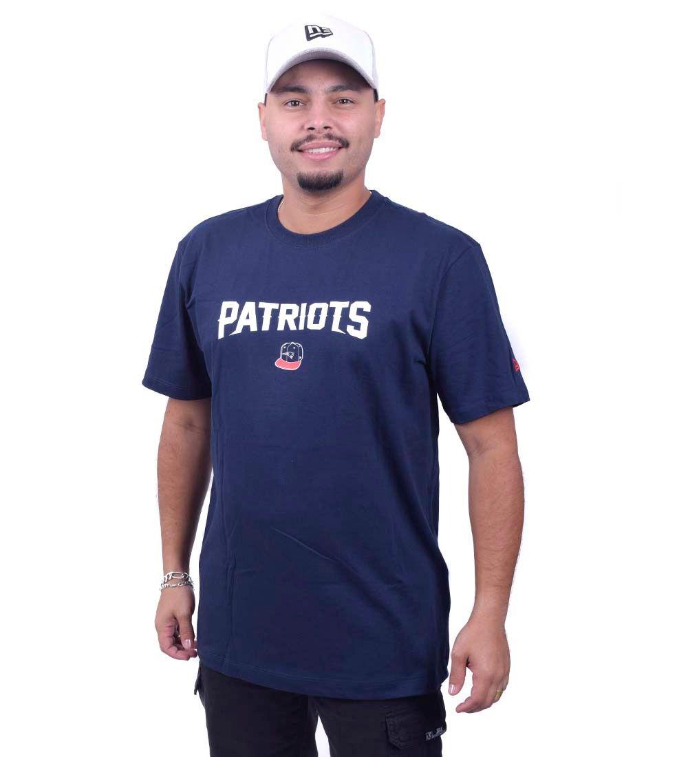 Camiseta Patriots NFL 90S Conti Nues Cap Nepat New Era