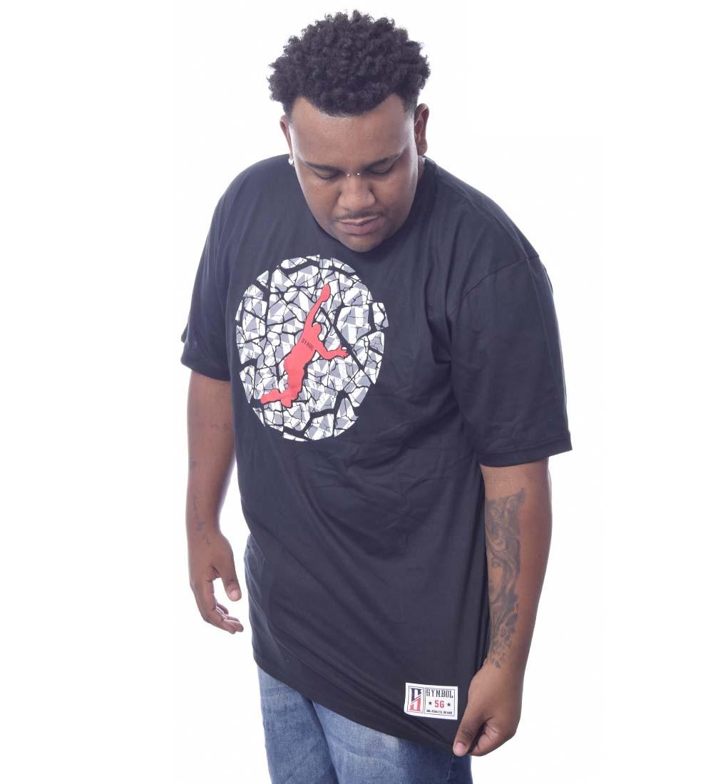 Camiseta Plus Size Symbol Big Athletic Brand