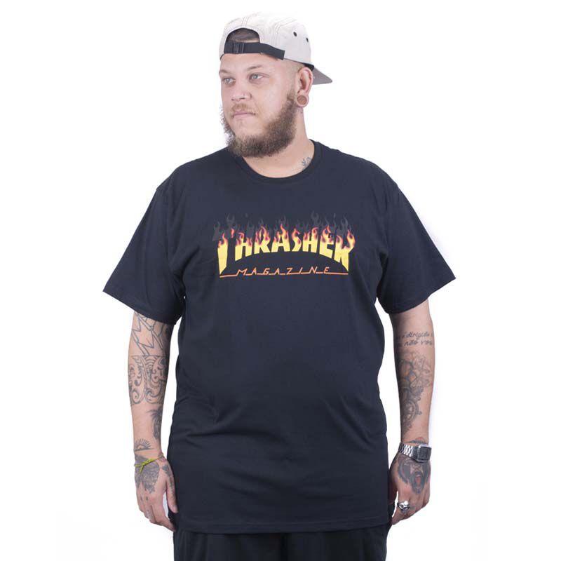 Camiseta Thrasher  Big Magazine