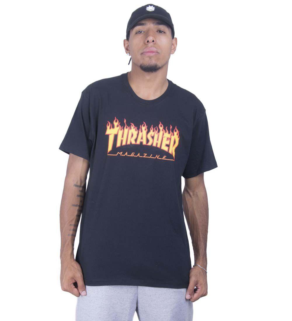 Camiseta Thrasher tradicional